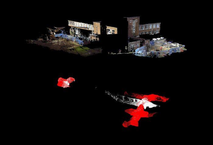 Subsurface Laser Scan Surveys
