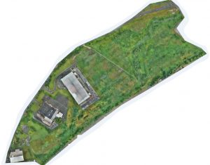 Industrial Land UAV LiDAR and Photogrammetry Survey