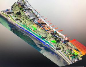 A UAV LiDAR and Photogrammetry Survey of King George V Memorial Embankment