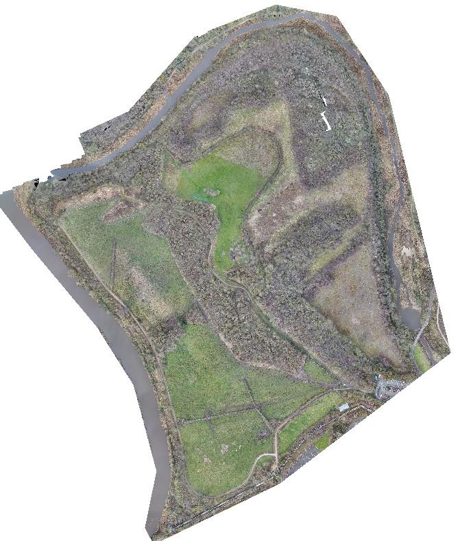 Landfill UAV LiDAR Survey Northwich