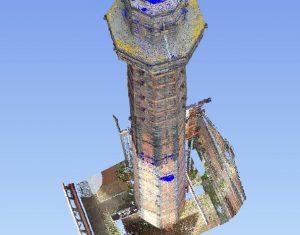 National Waterways Museum Chimney Laser Scan Survey