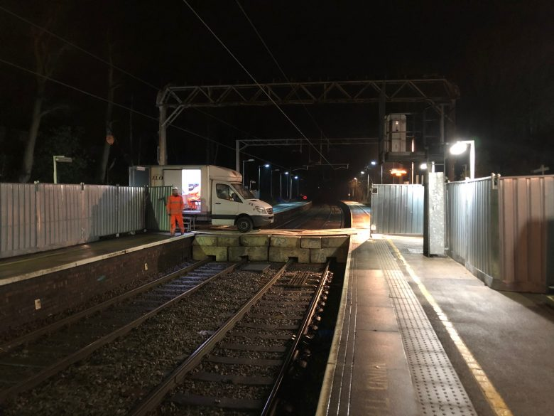 Kidsgrove Train Station Void Survey