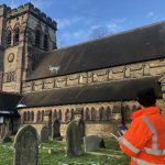 Geoterra – UAV Photogrammetry Survey, St John's Church, Hartford