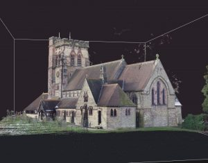 UAV photogrammetry survey of St John's Church