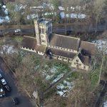 St John's Church, Hartford Aerial Photograph